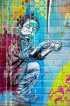 Street Art - Vitry-Sur-Seine, Paris, France