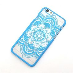 Henna Mandala Floral Cell Phone Cases