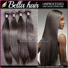 straight hair bundles high quality