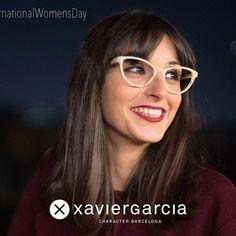 Don't look like anybody else, just look like you. Be intelligent! Happy  #InternationalWomensDay #iLoveXavierGarciaBCN #XavierGarciaBCN #eyewear #Design #Barcelona