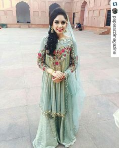#Repost @paperazzimagazine with @repostapp ・・・ Gorgeous location and a gorgeous bridal by Sara Rohale Asghar as seen on Sidra Malik in #Lahore ✨ #WeddingSeason @sararohaleasgharofficial