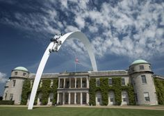 Goodwood Festival of Speed 2014 central feature celebrating 120 years of Mercedes-Benz success in motorsport.  Picture: Paul Melbert