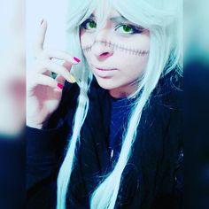 //says something smart  #kuroshitsujicosplay #undertakercosplay #undertaker #blackbutler #blackbutlercosplay #shinigami #anime #animecosplay #cosplay #cosplayer
