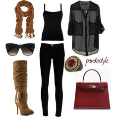 """""""fall"""" by pandastyle-821 on Polyvore  Hello rediculously expensive purse, i think i love you!!!"""