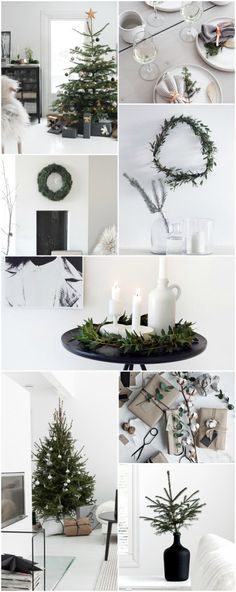 Today, I've gathered some beautiful Scandinavian Christmas inspiration to give you ideas on how you can decorate your home.