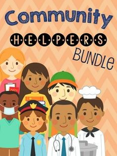 Community Helpers Interactive Comprehension Book Bundle! #Minilessons #SLP #SpeechTherapy #SpeechBubble #SpEd #ELA #OT #printable #SocialSkills