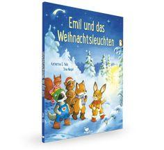 """MAGELLAN - BILDERBUCH. Inhalt Es ist der Morgen des Heiligen Abend. In der Hasenhöhle am Waldrand wartet der kleine Hase Emil auf den Weihnachtsmann. Der Hasenpapa steht am Höhlenfenster und schaut hinaus. """"Emil!"""", ruft er plötzlich. """"Ich habe ein helles Leuchten gesehen!"""" War das vielleicht der Weihnachtsmann? Das muss Emil unbedingt herausfinden! Schon saust er im Hasengalopp durch den Wald."""