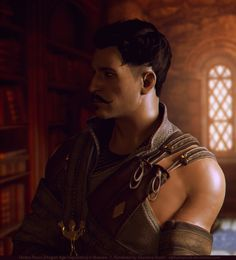 - Posed in XPS. Rendered in Blender Cycles 2.73 + Adobe Photoshop CS5 - Dorian Pavus from Dragon Age: Inquisition © Bioware - Background © Bioware \\ Screen & character extracti...