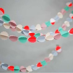 #Paper #Garland | Mi Avril via French Blossom