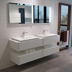 vanity #Porcelanosa #modern #remodel