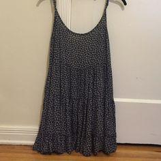 Brandy Melville Blue Sundress Brandy Melville blue backless sundress. Perfect for the summer! Brandy Melville Dresses Mini