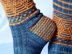 Magickal Quidditch Socks pattern by Jennifer Dassau Magickal Quidditch Socks by Jennifer Dassau. A tribute to the Quidditch players of Harry Potter's Wizarding World, or to. Crochet Socks, Knitted Slippers, Knitting Socks, Hand Knitting, Knit Crochet, Knit Socks, Crochet Granny, Harry Potter Socks, Socks And Heels