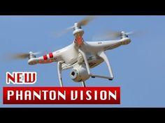New V3.0 DJI Phantom Vision 2 + / new 3-axis Gimbal / 14Mpix camera + spare battery