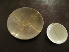 Kintsugi—the Japanese art of repairing broken pottery with gold. The idea behind…