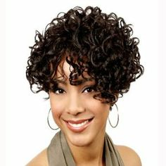 BOBBI BOSS Human Hair Wig - MH1200 (# 1B - Off Black) by BOBBI BOSS. $59.99. FULL WIG. BOBBI BOSS. HUMAN HAIR. SHORT. CURLY. BOBBI BOSS Human Hair Wig - MH1200 Created with the premium quality human hair. Bobbi Boss Human Hair Wigs have been crafted by a team of talented and devoted hair stylists, ensuring the highly class-distinctive yet natural & sophisticated hair styles. Highly durable for heat styling, a personal touch can be added by curiers or flat irons. With easy care ...