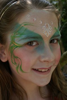 Mermaid by Jennifer Parker @ Kaleidoscope Face Painting