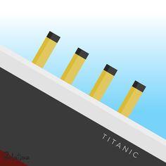 Titanic – Grafica  16 gennaio 1998 – Anche nelle sale italiane arriva il campione d'incassi Titanic, di James Cameron con Leonardo DiCaprio e Kate Winset. Every Day – GELATINA DESIGN