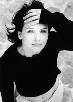 """cinemamoremio: """" Juliette Binoche by Marianne Rosenstiehl """""""