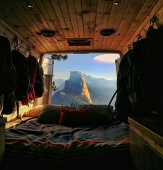 camping aesthetic Live the van life dream! Get inspiration for your camper van conversion from these 10 awesome & unique Sprinter camper vans on Insta. Sprinter Van, Mercedes Sprinter Camper, Camping Car Sprinter, Kombi Motorhome, Rv Campers, Kombi Home, Van Living, Good Morning Sunshine, The Great Outdoors