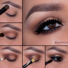 Incredible pictorial by Ely Marino for a classic golden look using Motives…