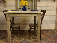 Counter Height TableDining Room Table Driftwood table