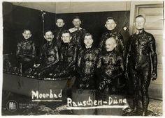 "Раушен. Снимок на память из грязелечебницы ""Rauschen-Duene"". Фото середины 20-х г.г."