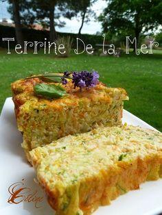 Terrine of the Sea - Marit P - - Terrine de la Mer Discover the recipe Terrine of the Sea on cuisineactuelle. New Recipes, Cake Recipes, Vegan Recipes, Cooking Recipes, Terrine Recipes, Quiches, Seafood Appetizers, Fast Food, My Best Recipe