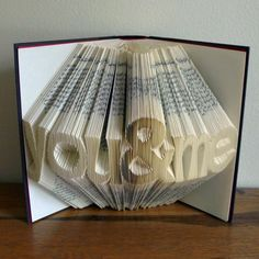 Altered Book / Boyfriend Gift / Girlfriend Gift by LucianaFrigerio