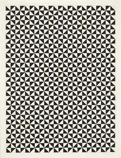 pattern opart black and white