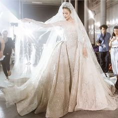 """pinkwinged: """"Zuhair Murad bridal collection """""""
