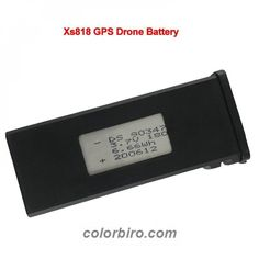Wow! Get this 3.7V/1800mAh Li-po Battery for Visuo XS818 GPS Drone for only 43.98$ #ConsumerElectronics #DroneAccessories #DronesandAccessories Consumer Electronics, Day