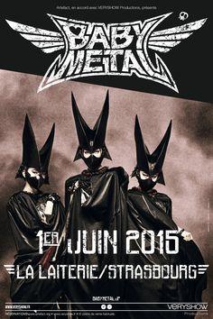 BABYMETAL en concert unique le 01 juin à La Laiterie à Starsbourg !!