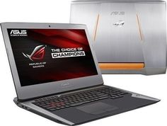 ASUS ROG has a powerful processor, loads of RAM, discrete NVIDIA graphics and a lot more making it one of the best gaming laptops. Asus Laptop, Mac Laptop, Laptop Computers, Computer Laptop, Pc Asus, Asus Rog, Pc Gamer, Windows 10, Pc Portable Asus