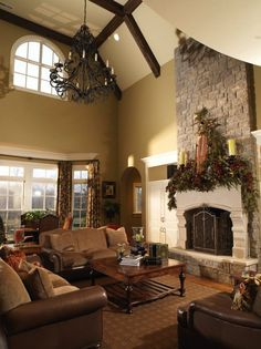 1000 images about castle homes living rooms on pinterest for Custom castle builders