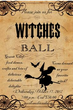 Witches Ball}You're Invited