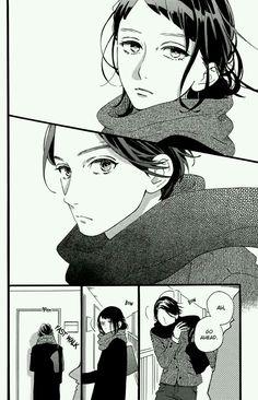 Read manga Hirunaka no Ryuusei Tonari no Otoko: The Guy Next Door online in high quality Girls Anime, Anime Couples Manga, Chica Anime Manga, Anime Kawaii, Otaku Anime, Manhwa, Manga Comics, Marvel Comics, Manga Art