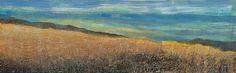 177 'Autumn hillside, above Crieff', Acrylic