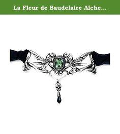 La Fleur de Baudelaire Alchemy Gothic Velvet Choker. La Fleur de Baudelaire Alchemy Gothic Velvet Choker.