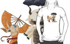 'Avatar Totoro' T-Shirt by Minette Wasserman