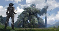 [Sci-Fi] - [digitalart/paintings/scifi] - Find the lost one - by: xiaoxinart. Oooh, love this...