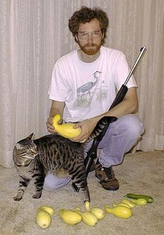 A well rounded person has many interests. I personally love cats, guns and squash