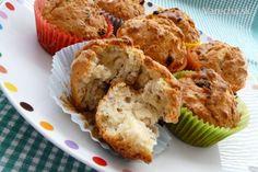 Výborné raňajkové muffinky...