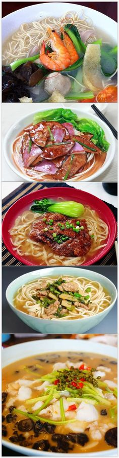 While autumn days are still pleasantly warm in Hangzhou, a hot bowl of noodles can still brighten your day. Here are the top five noodle restaurants in the city! 1. Juying Noodle Restaurant 2. Noodle Restaurant on Daxue Road 3. Zhong'er Noodle Restaurant 4. Noodle Restaurant in Hutianbei Alley 5. Baijingfang Noodle Restaurant