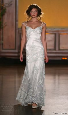 Claire Pettibone Fall 2016 Wedding Dresses — The Gilded Age Couture Bridal Runway Show   Wedding Inspirasi