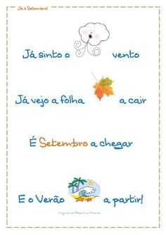 Já é Setembro! Pre School, Back To School, School Items, Thanks For Sharing, Music For Kids, Kids Playing, Things To Do, Crafts For Kids, Classroom