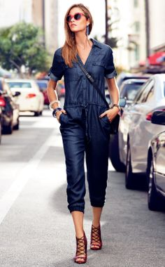 The Denim Jumpsuit. #NewYork&Co #WattersCreek