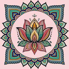 A relaxing beautiful color mandalas. art journaling class in Mandala Doodle, Mandala Art Lesson, Mandala Artwork, Mandala Drawing, Mandala Painting, Dot Painting, Doodle Art, Mandala Coloring Pages, Yoga Art