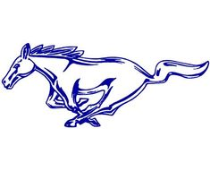 vintage ford mustang emblems and logos - Google Search