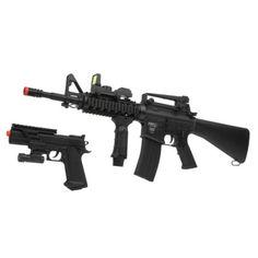 airsoft guns big & small we got em all!