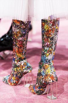 Chaussures Dior, Fashion Week 2015